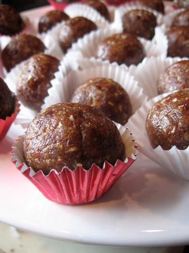 Date-Pecan Truffles