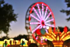 alameda county fair (sevenworlds16) Tags: county carnival summer lights bokeh fair bayarea ferriswheel rides alameda pleasanton 2010 wackyworm
