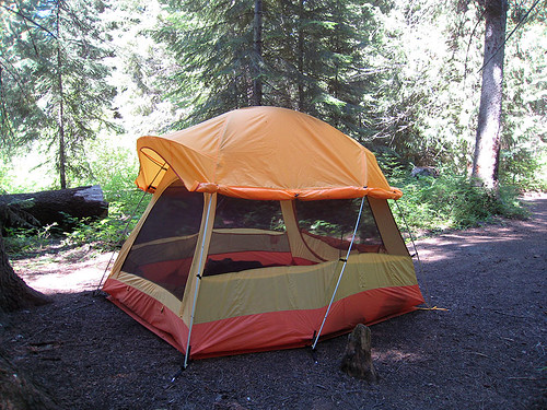 Camping in the Entiat
