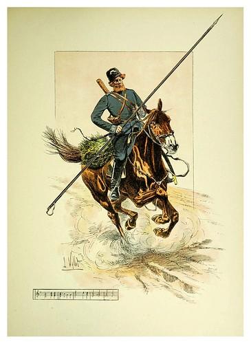 028-Cosaco de la guardia-Le chic à cheval histoire pittoresque de l'équitation 1891- Louis Vallet