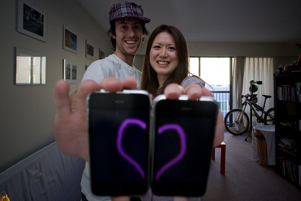 iPhone 4 me, iPhone 4 u