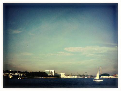 Yacht, Keppel Harbour
