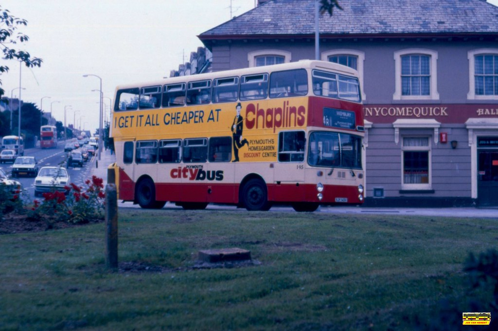 PCB Leyland Atlantean AN 145 - Ply., Penny Come Quick - 22-07-1987
