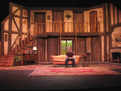 Flickriver Photoset Quot Noises Off Quot Set Design And