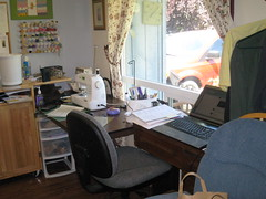 sewing space before