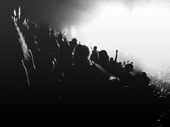 tool (aaronfoster) Tags: party blackandwhite bw concert crowd highcontrast tool toolb