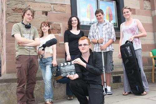 Lichfield Festival film crew