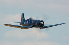 Chance-Vought F4U-7 Corsair (graguitar) Tags: airplane flying fighter aircraft aviation wwii navy aeroplane airshow duxford corsair warbirds warbird navalaviation f4u vought airsho flyinglegends voughtf4ucorsair aeronvale flyinglegends2010 meiermotors