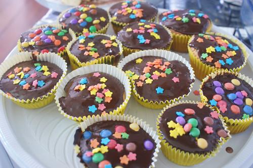 2ª tentativa de fazer um Cupcake