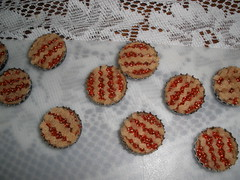 Mini Cherry Pie Magnets