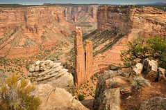 Spider Rock Canyon de Chelly Arizona (Jonohey) Tags: arizona usa southwest sandstone canyon navajo redrock canyondechelly canyondechellynationalmonument spiderrock palojono