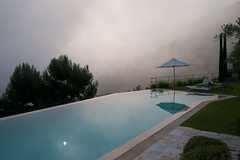 Eze (johanna) Tags: cloud france eze infinitypool