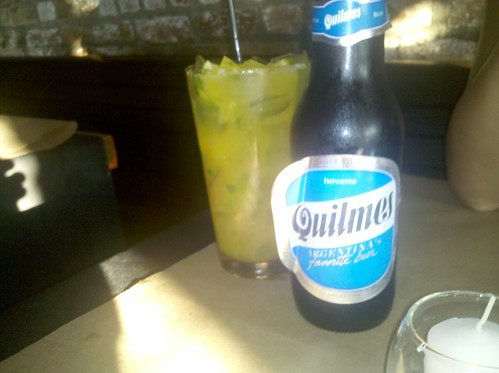 Quilmes and mango mojito @ N