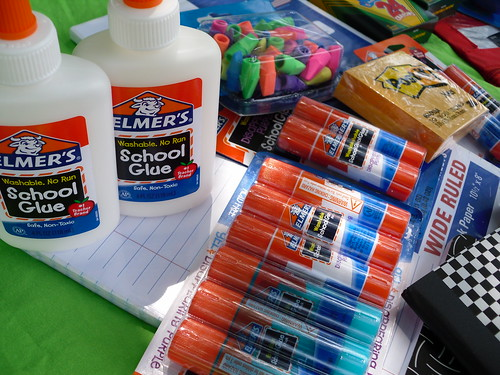 Elmer's glue is a staple. #BagItForward