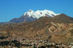 Illimani i La Paz - Bolivia