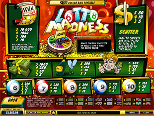 free Lotto Madness slot mini symbol