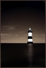 Penmon Point Lighthouse (Ben Locke (Ben909)) Tags: longexposure sea lighthouse wales ir coast infrared northwales penmon penmonpoint