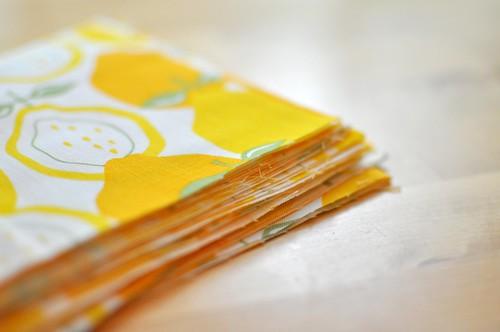 yellow pile