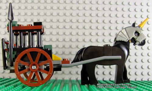 LEGO Kingdoms 7949 Prison Carriage Rescue - Review (2010)