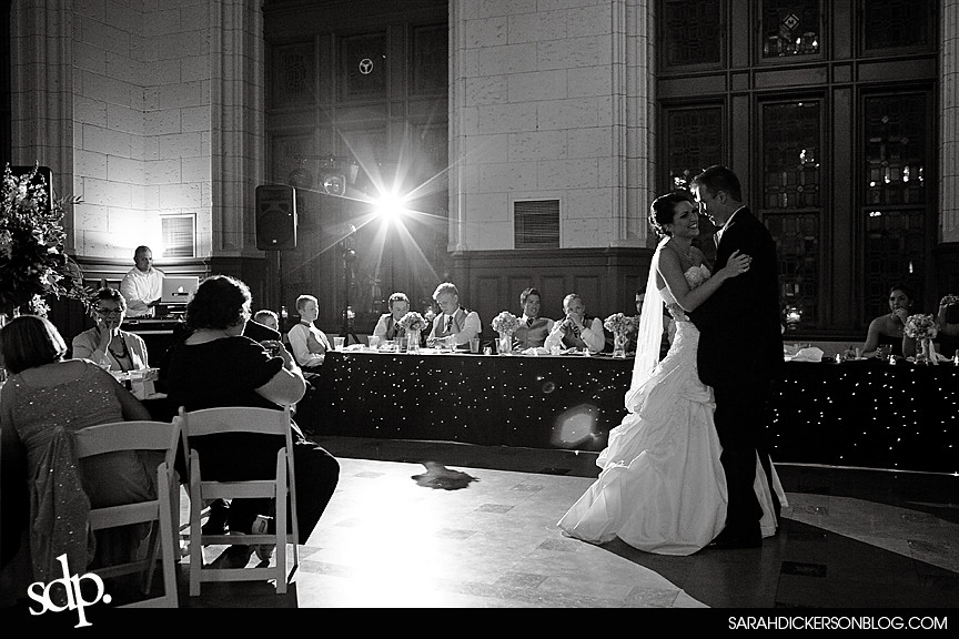 Sawyer Room, Kansas City Missouri wedding reception photography
