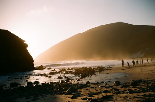 pfeiffer beach at sunset- july 14th