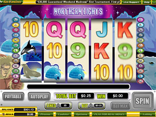 Northern Lights slot game online review