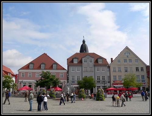 Marktplatz in Waren