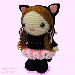bella ballerina amigurumi doll crochet pattern side (amigurumi photos) Tags: ballet black girl animal cat ballerina kitten doll pattern dress crochet kitty dancer skirt suit amigurumi tutu catsuit amigurumidoll amigurumiballerina crochetballerinapattern