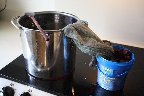 Stovetop Dyeing