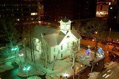 sapporo clock tower (kurisonic) Tags: snow sapporo hokkaido clocktower