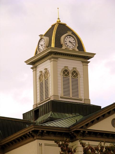 Hamblen County Courthouse Cupola