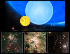 Comparativa estelar