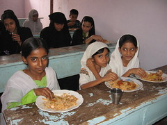 Feeding School Children in India