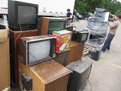 E-waste 2010 -  TVs