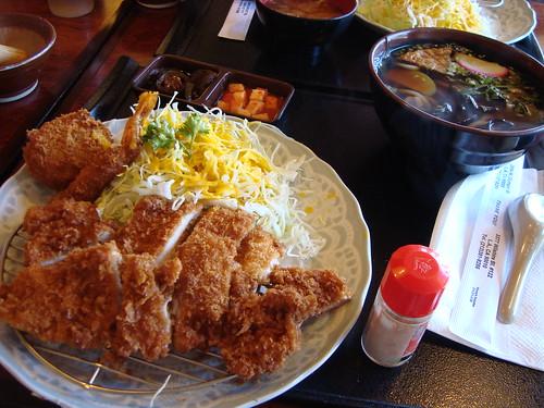 Chicken Katsu Combo @ Wako Donkasu