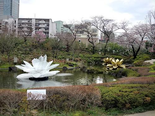 Roppongi Hills, Mori Garden: CHOI Jeong Hwa: Lotus