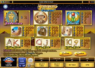 free Pharaoh's Tomb slot mini symbol