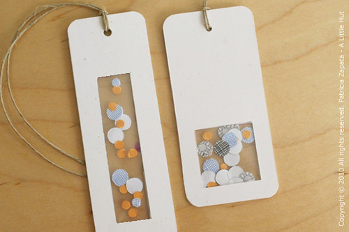 recycling security envelopes - gift tag