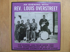 Rev. Louis Overstreet - An Evening With... - Mississippi Records