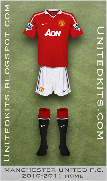 Manchester United 2010-11 Home kit