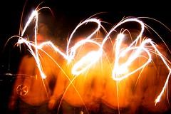 Fire Cracker Light-Writing