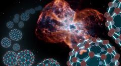 Buckybolas en el espacio