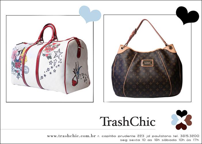 76933421b8a Maxi Bags Gucci e Louis Vuitton para Trash Chic (Loja Trash Chic) Tags