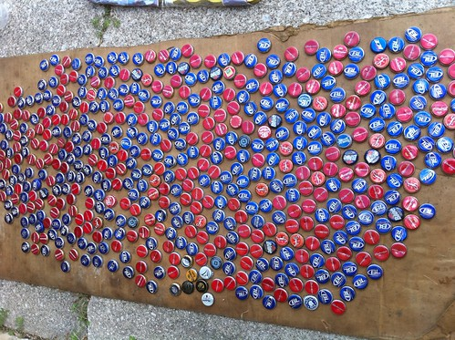 Bottle Cap prep