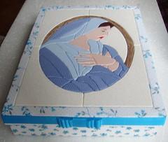Virgem Maria em Carton Mousse (Lou Ortellado) Tags: cartonmousse patchworkembutido