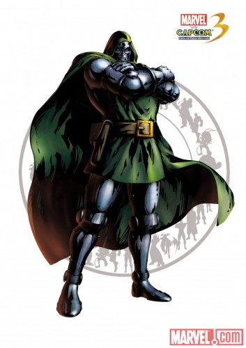 Marvel vs Capcom 3: Fate of Two Worlds Doctor Doom