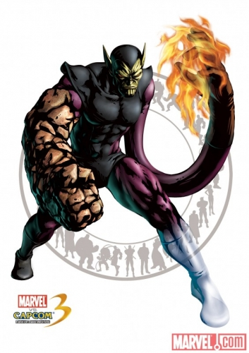 Marvel vs Capcom 3: Fate of Two Worlds Super Skrull