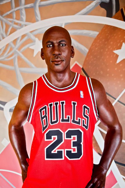 Michael Jordan in Wax by Evan MacPhail Photography