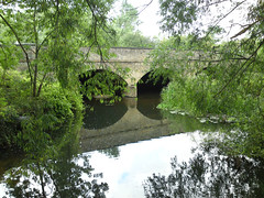 Bridge at Hauxton Mill Photo