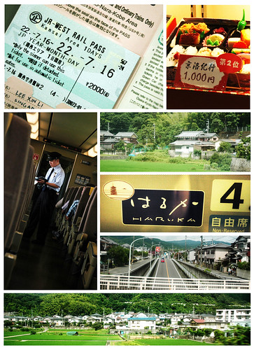 Haruka Express : Kansai International Airport to Kyoto